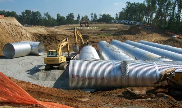 Gwinnett Braves Stadium Stormwater Project